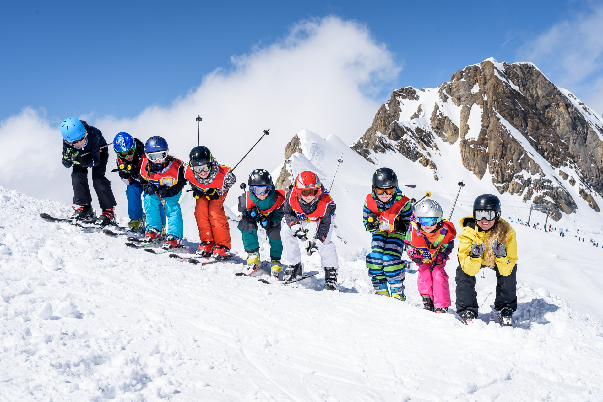 All in One Ski - Kind/Child, 3 Tage/Days Kurs/Course & 6-7 Tage/Days Rent