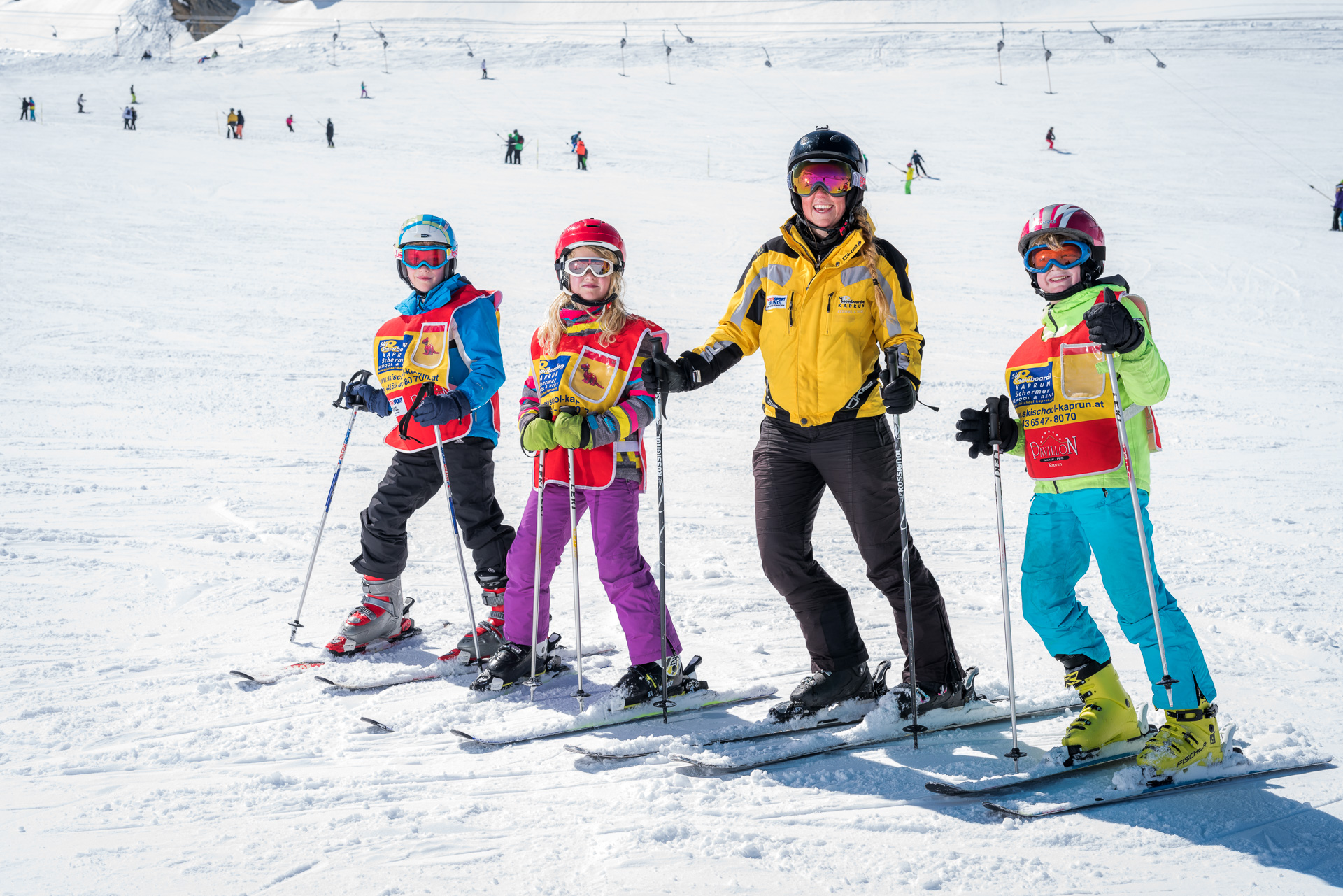 All in One Ski - Kind/Child, 4-6 Tage/Days Kurs/Course & 7 Tage/Days Rent
